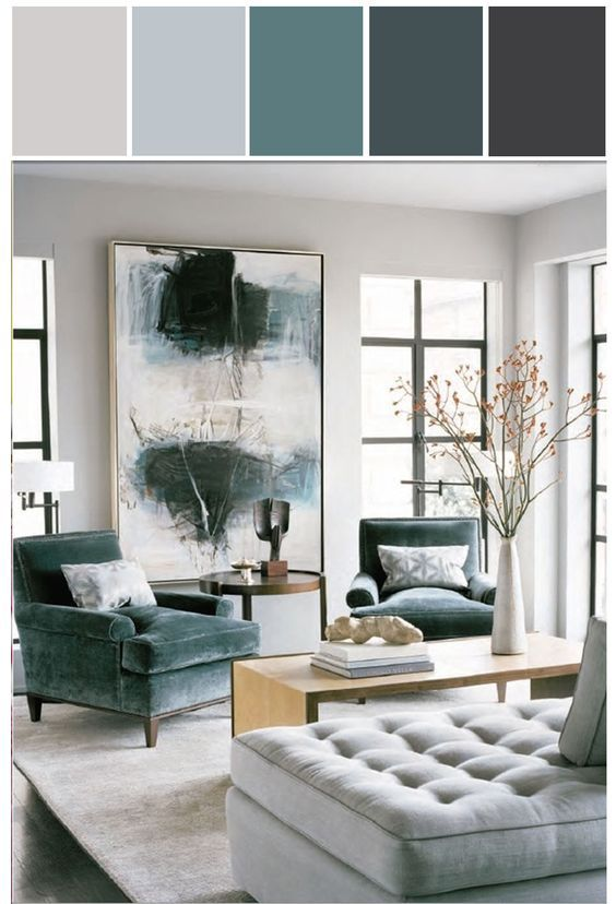color #combination | Salones / Living rooms | Pinterest | Interiors ...