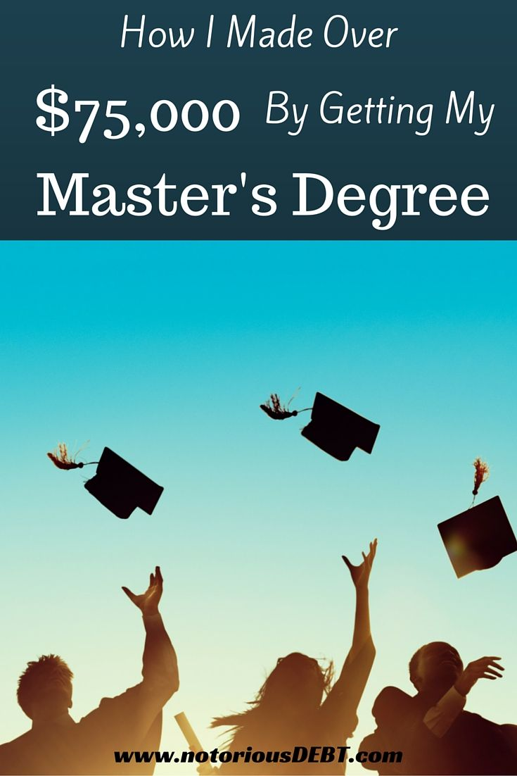 How i was paid over 78000 to get my masters degree