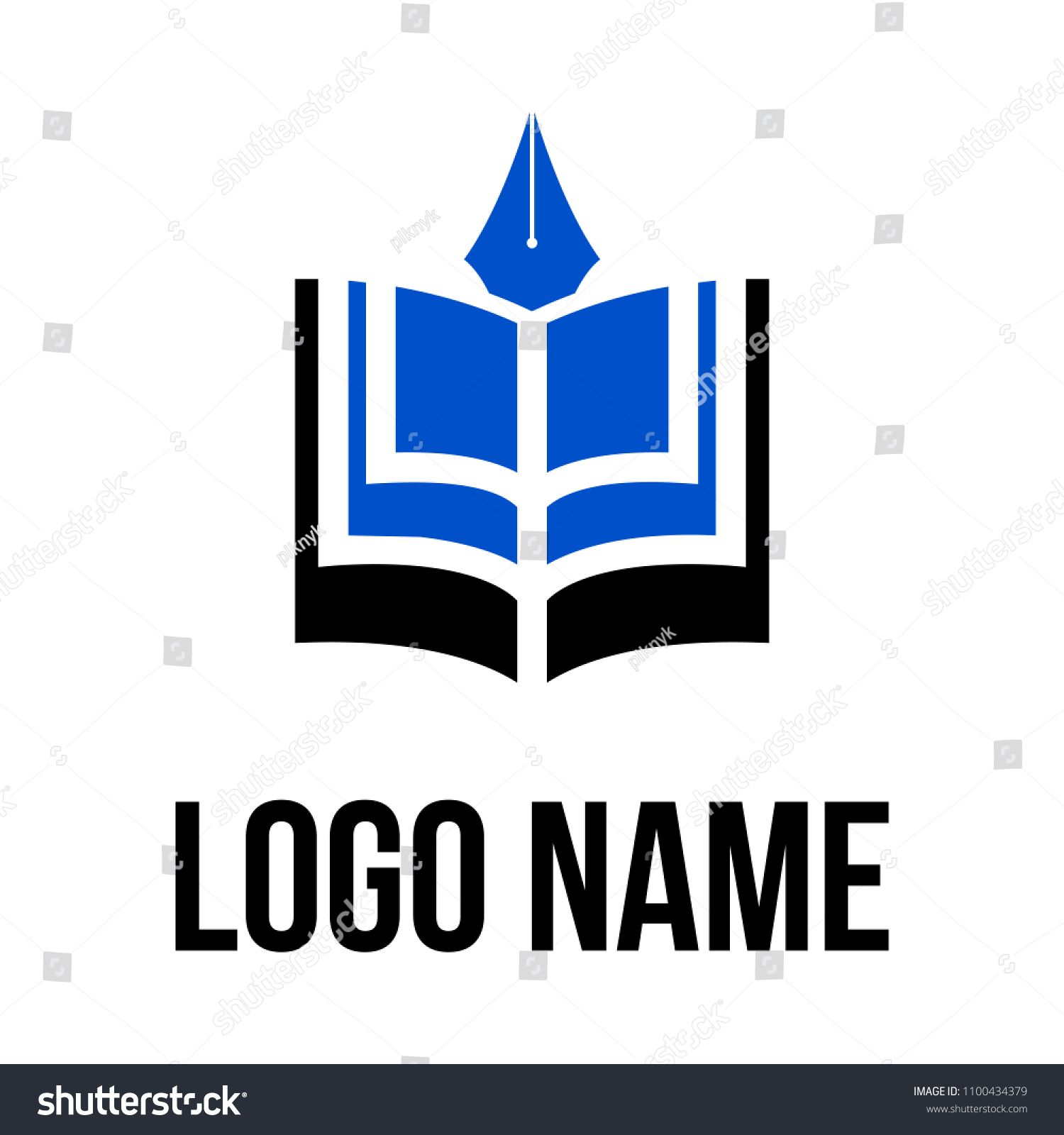 Book Logo Vector Icon Illustration N Ad Sponsored Logo Book Vector Illustrationn In 2020 Book Logo Vector Icons Illustration Vector Logo