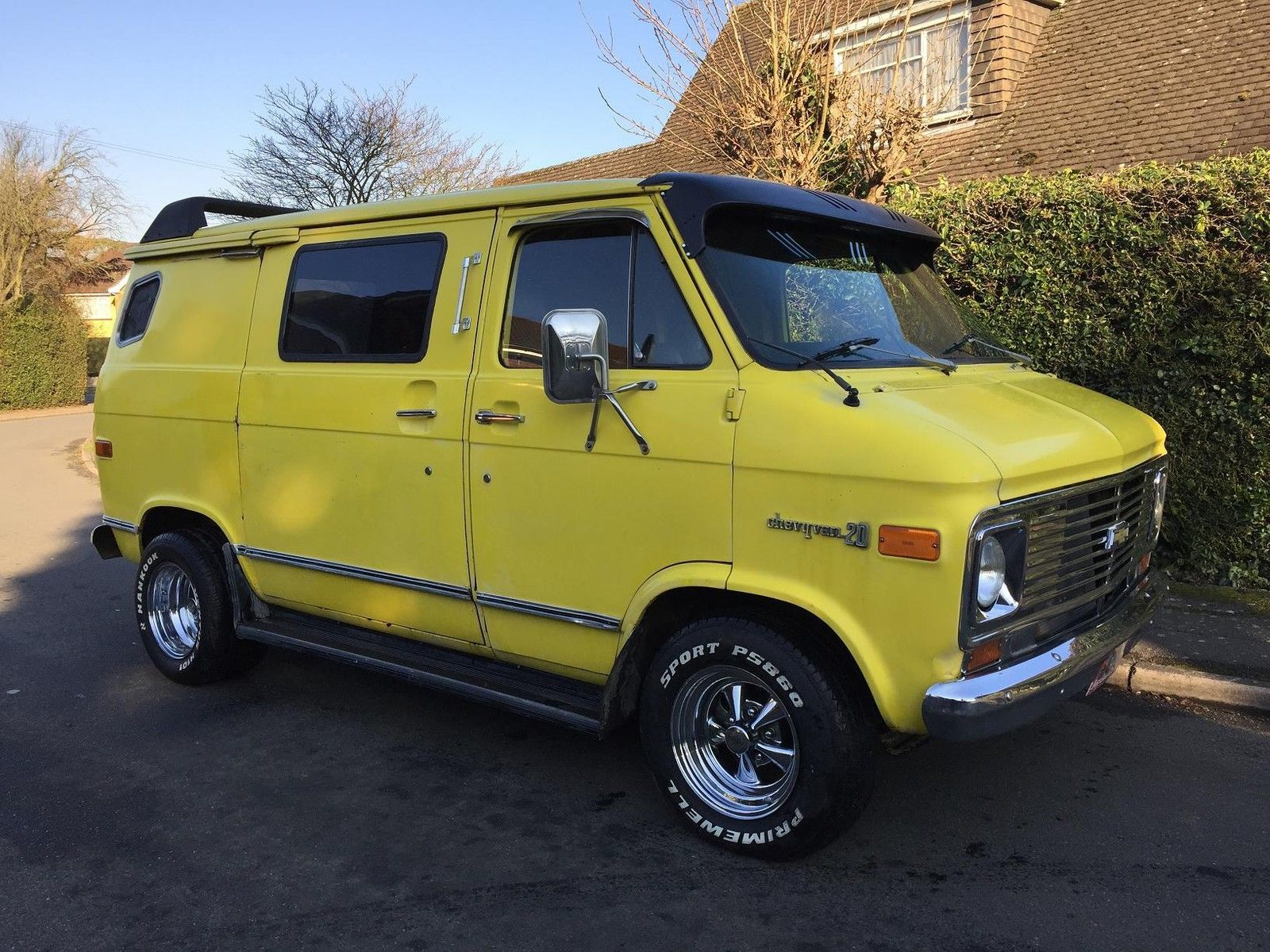 1976 Chevrolet Short Box Surf Van Hotrod Custom SOLD