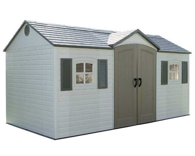 Sentinel X Plastic Storage Shed By Lifetime Storage Sheds