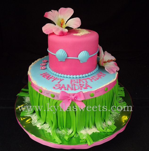 Image result for luau cakes