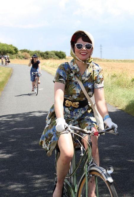 Au Revoir Anjou Velo Vintage Bicycle Bicycle Girl Bike Style