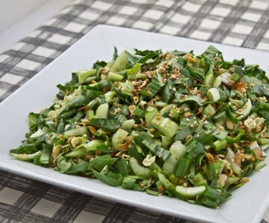 Baby Bok Choy with Sesame Dressing by Culinary Hill