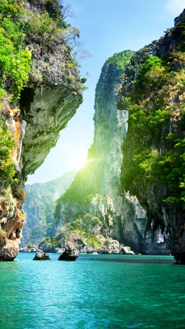 Beautiful islands of thailand t r a v e l landscape wallpaper iphone spring wallpaper - Beautiful country iphone backgrounds ...