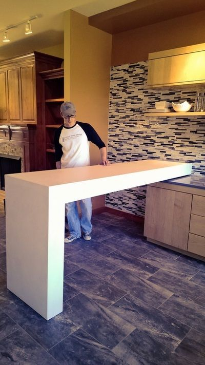 Awesome Concrete Countertops St. Louis, Chicago, Illinois   Formed Stone Design