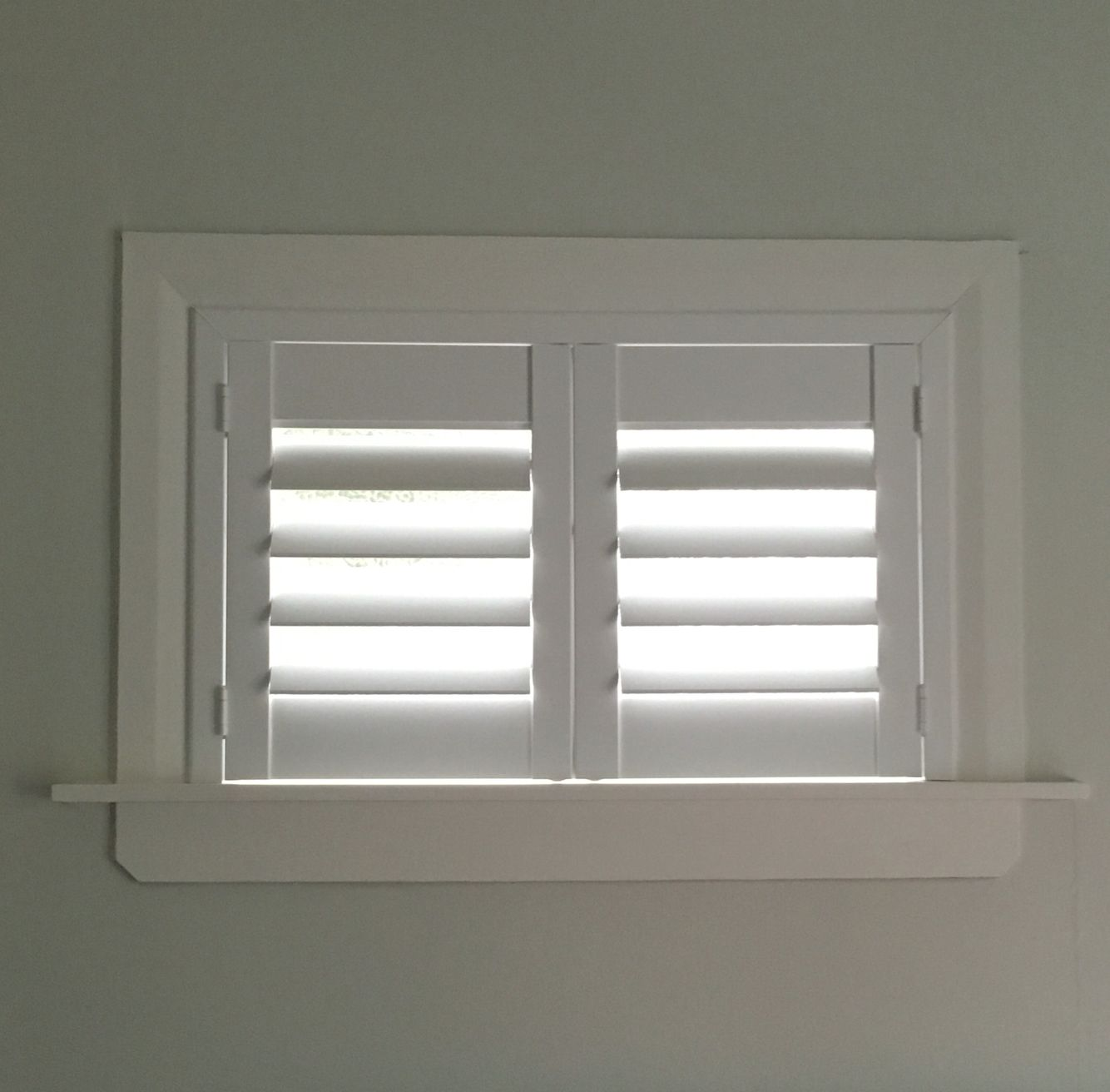 A Lovely Little Shutter That Sits Above The Bed A Window That