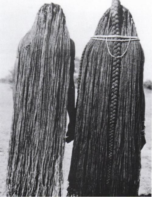 The Braided Rapunzels Of Africa Other Tribal Trends African Hairstyles Long Hair Styles Natural Hair Styles