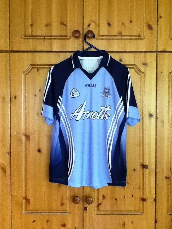 Dublin Gaelic Football Home Jersey 2007 to 2008 Large