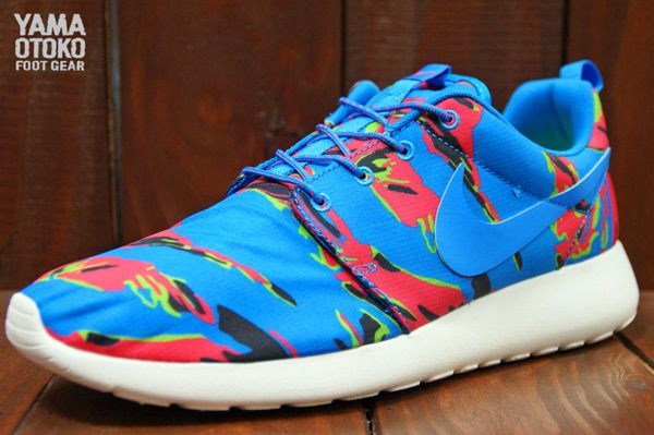 nike roshe run color camo for men