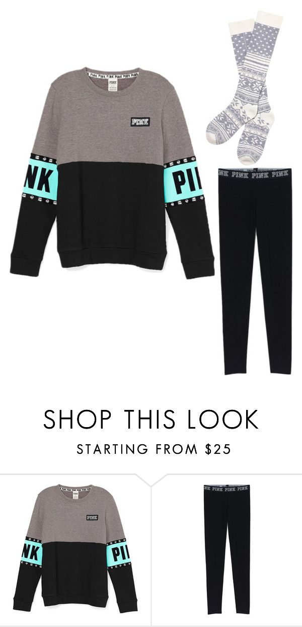 """Lazy Dat"" by vibe-with-antionette on Polyvore featuring Victoria's Secret"