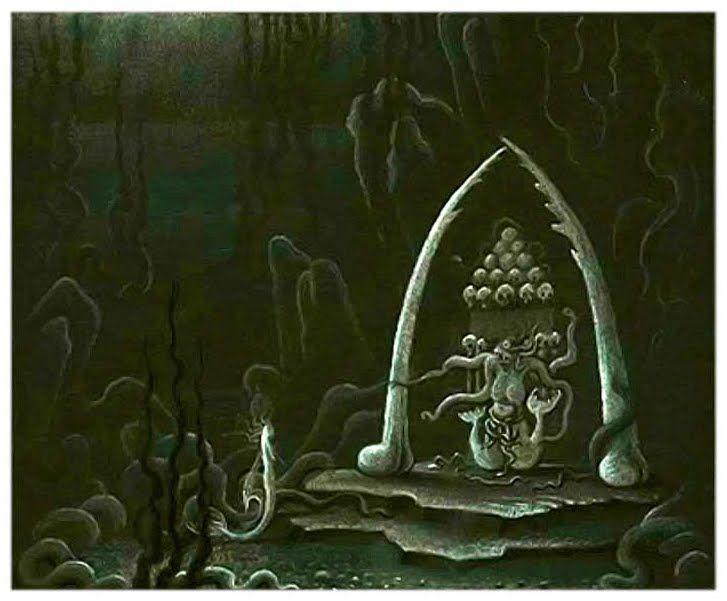 Kay Nielsen's concept art for Walt Disney's The... - The Disney Elite