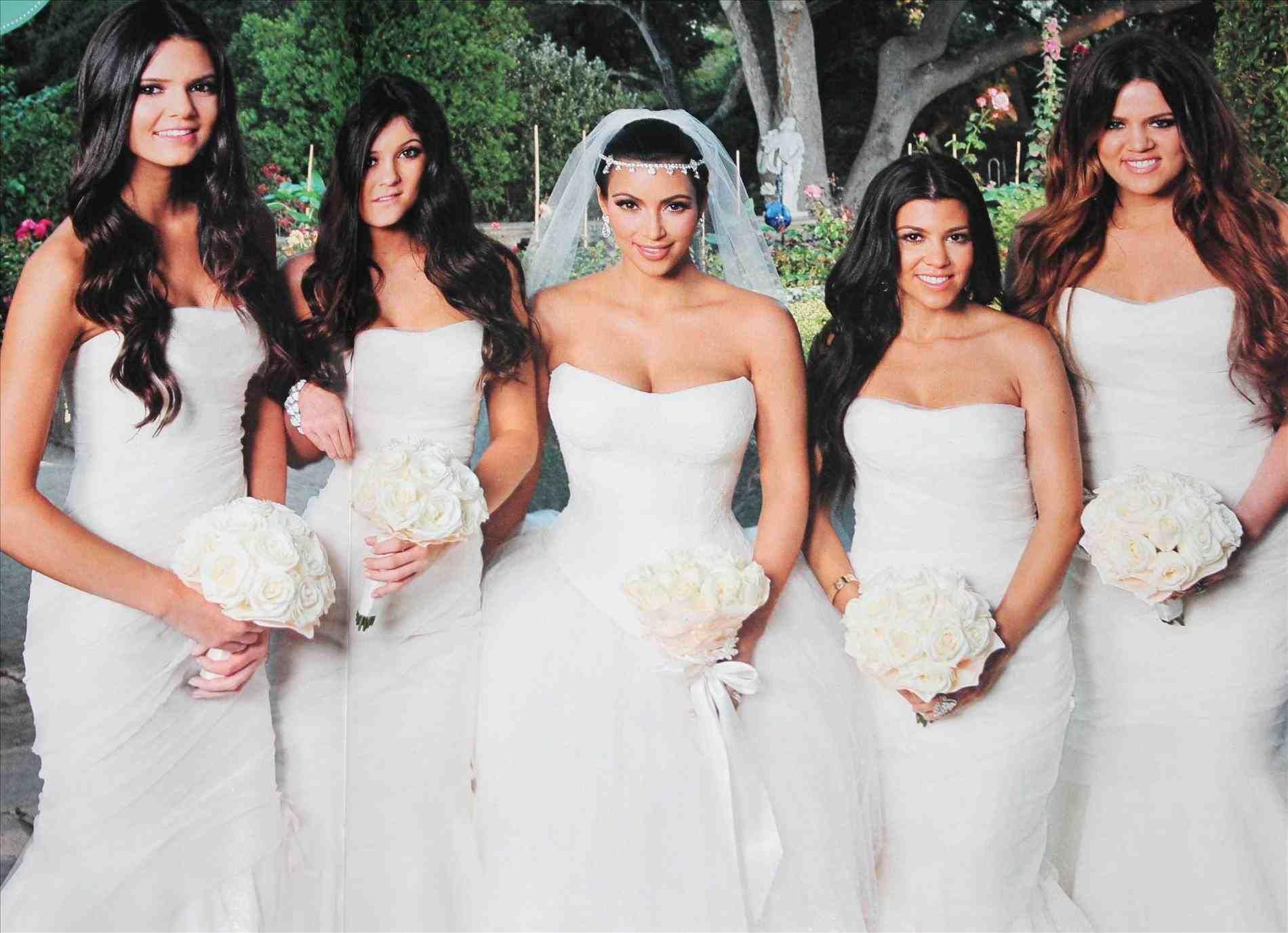 Khloe Kardashian Wedding Bridesmaids Kardashian Wedding