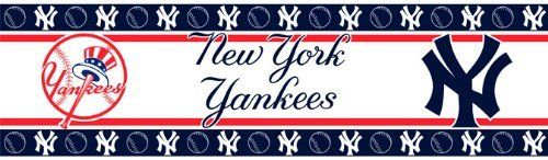 New York Yankees Wall Border by store51/25 Wallpaper