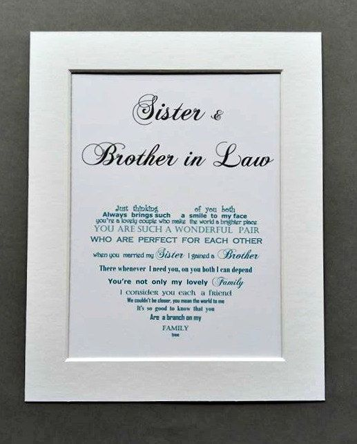Check Out This Item In My Etsy Shop Https Www Etsy Com Uk Listing 498053071 Brother G Brother Birthday Quotes Sister Birthday Quotes Happy Anniversary Quotes