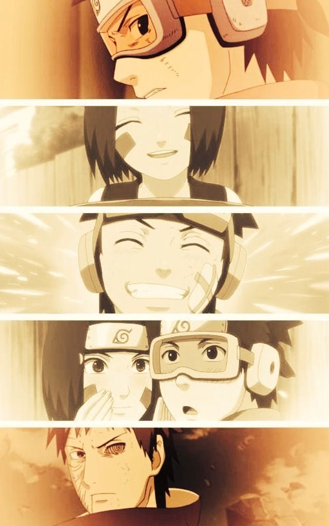 Obito and Rin.   Anime naruto, Naruto shippuden, Kushina ...