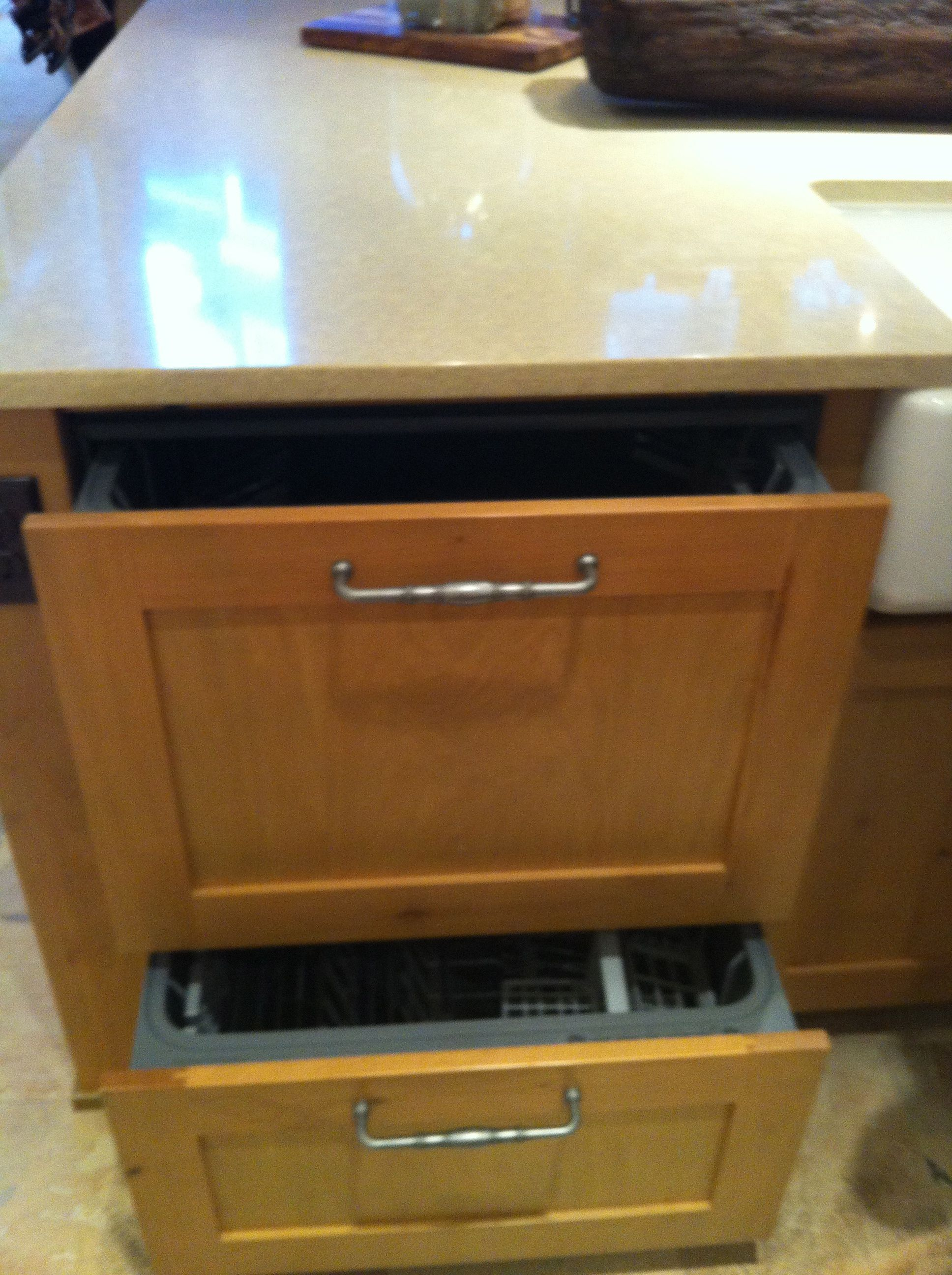 dishwasher winnetka fa high of kitchen ade hides a end behind il the this island inconspicuously in drawer pin
