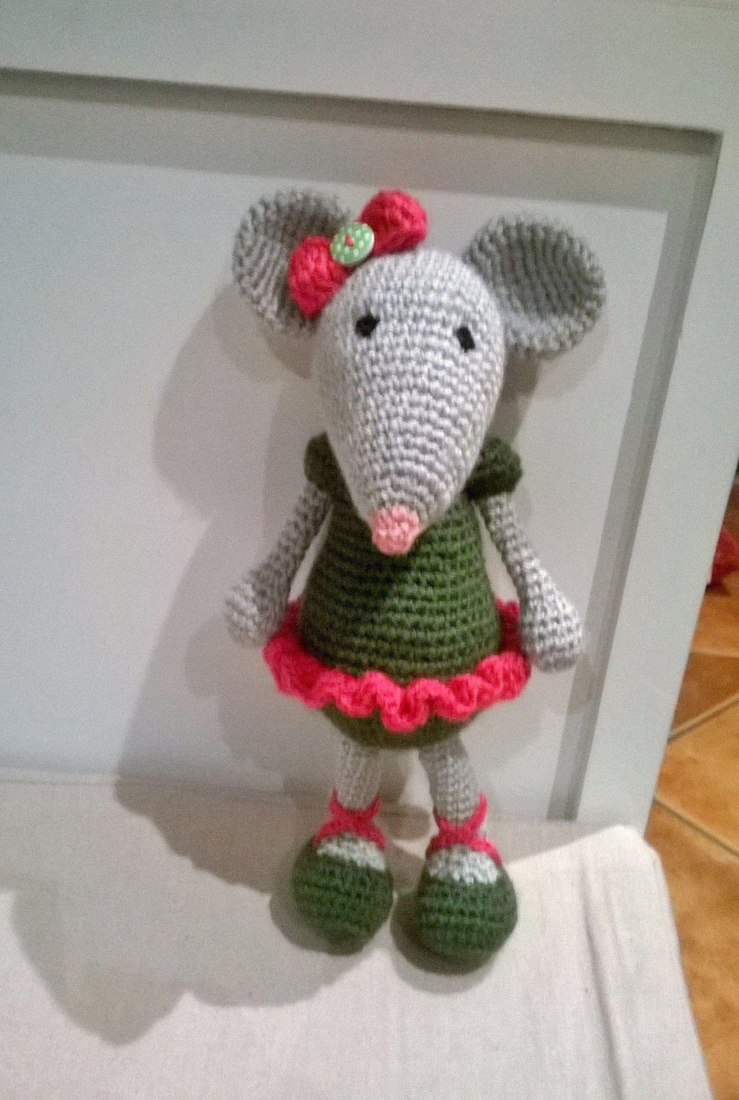 MILLY, la ratita | Amigurumi crochet | Cristina Parrilla | Flickr | 2160x1451