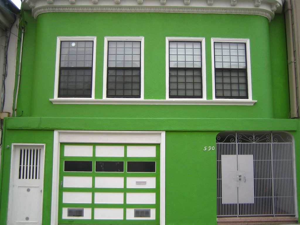 Exterior: Fresh Dark Green Paint Colors For House Exterior For ...