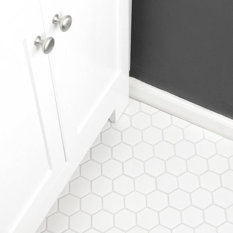 Installing Tile In The Upper Bathing Room A 2 White Hexagon Floor Tile And The White Hexagon Tile Bathroom Hexagon Tile Bathroom Floor Hexagon Tile Bathroom