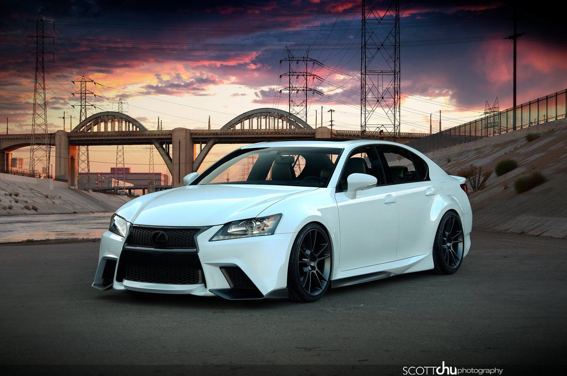 2013 Lexus GSF by Five Axis via Scott Chu Photography
