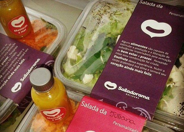 Empreendedores Faturam R 300 Mil Com Delivery De Saladas Em
