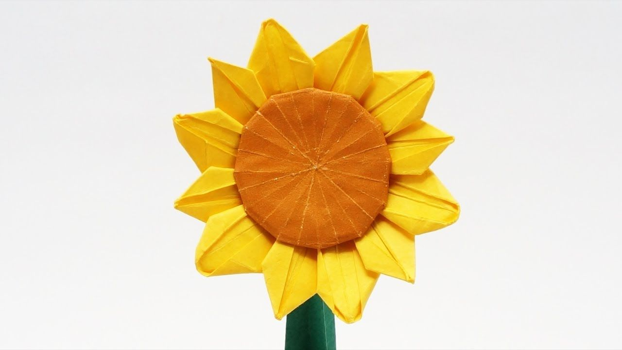 Preview origami sunflower jo nakashima time lapse origami preview origami sunflower jo nakashima time lapse jeuxipadfo Gallery