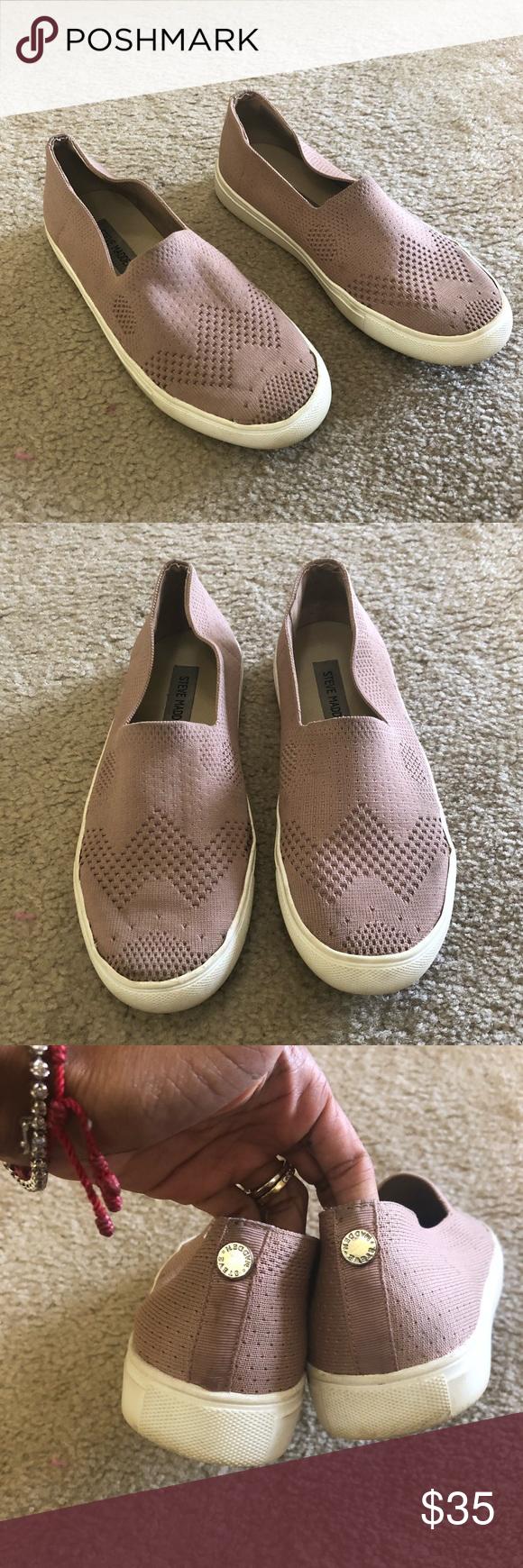 4211245e9e3 Steve Madden Frankel Slip On Sneakers Preowned Steve Madden Frankel Slip On  Sneakers Size  7.5 Color  rose blush color Steve Madden Shoes Sneakers