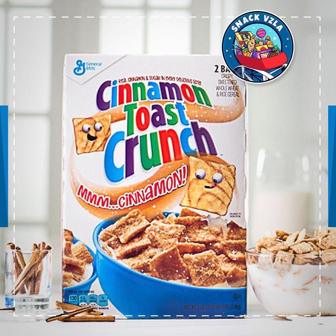 Comienza la semana con el mejor sabor para tu desayuno con Cinnamon Toast Crunch, crujiente cereal de canela  Comienza la semana con el mejor sabor para tu desayuno con Cinnamon Toast Crunch, crujiente cereal de canela #cinnamontoastcrunch