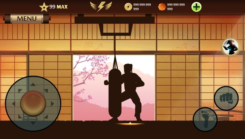 Download Shadow Fight 2 Mod Max Level 99 Apk For Android Which Comes With Unlimited Money The Level 99 Of This Shadow Figh Install Game All World Map Level 99