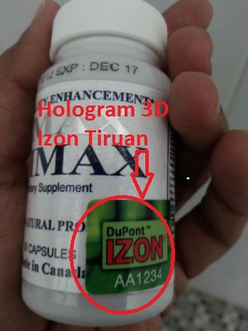 be careful not to be fooled by fake hologram vimax product or not 3d