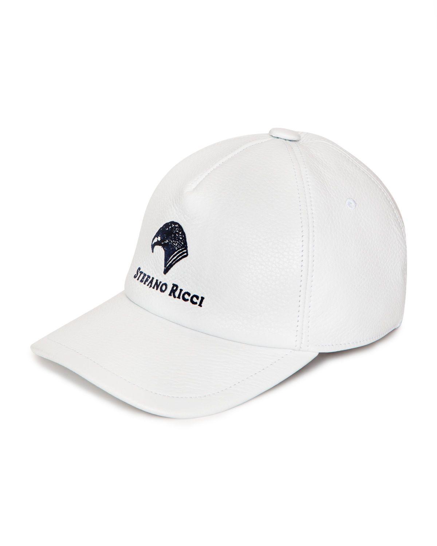 STEFANO RICCI MEN S DEERSKIN LEATHER BASEBALL CAP.  stefanoricci ... 43a77e6af532