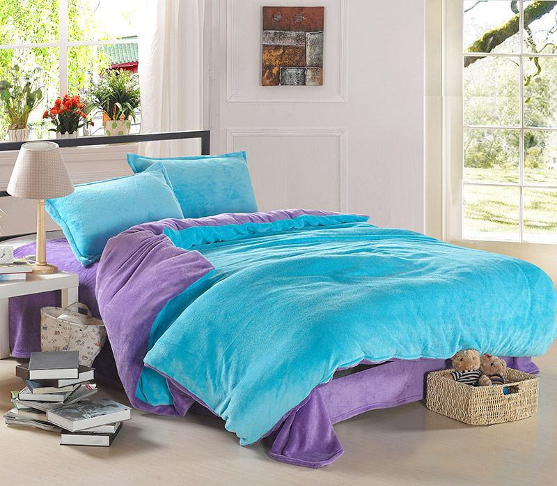 light blue and coral bedroom light blue and purple coral fleece bedding teen bedding 19025