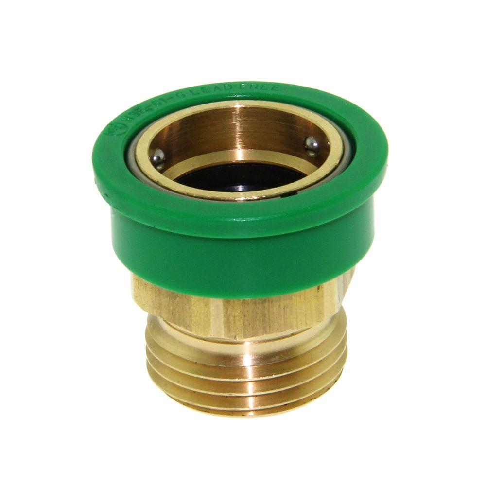 Neoperl 3 4 In Solid Brass Large Snap Coupler 97260 05 Portable Clothes Washer Solid Brass Strainers