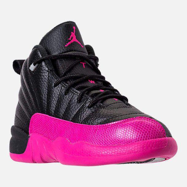 low priced b64cf 18edb Girls  Preschool Jordan Retro 12 Basketball Shoes   plenty performance details