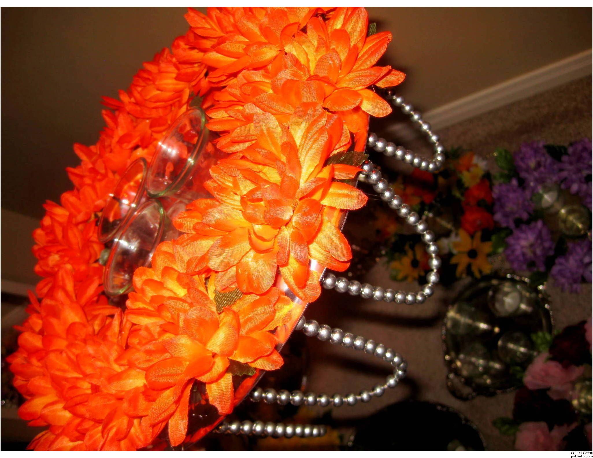 Diy Mehndi Plates : Orange mehndi plate how to style and decorate your