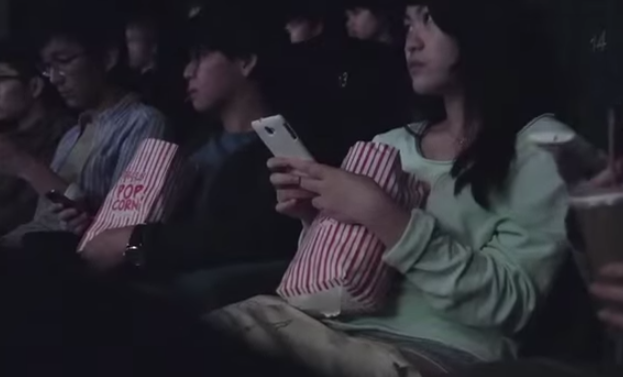 VIDEO: These Movie Goers Learn the Dangers of Texting and Driving in the Most Powerful Way Possible