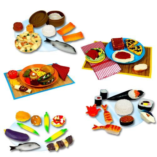 International food collection introduce children to - Different types of cuisines in the world ...