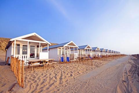Strandhuisjes Zandvoort Strandhaus Holland Haus Am Strand Holland Strand Urlaub