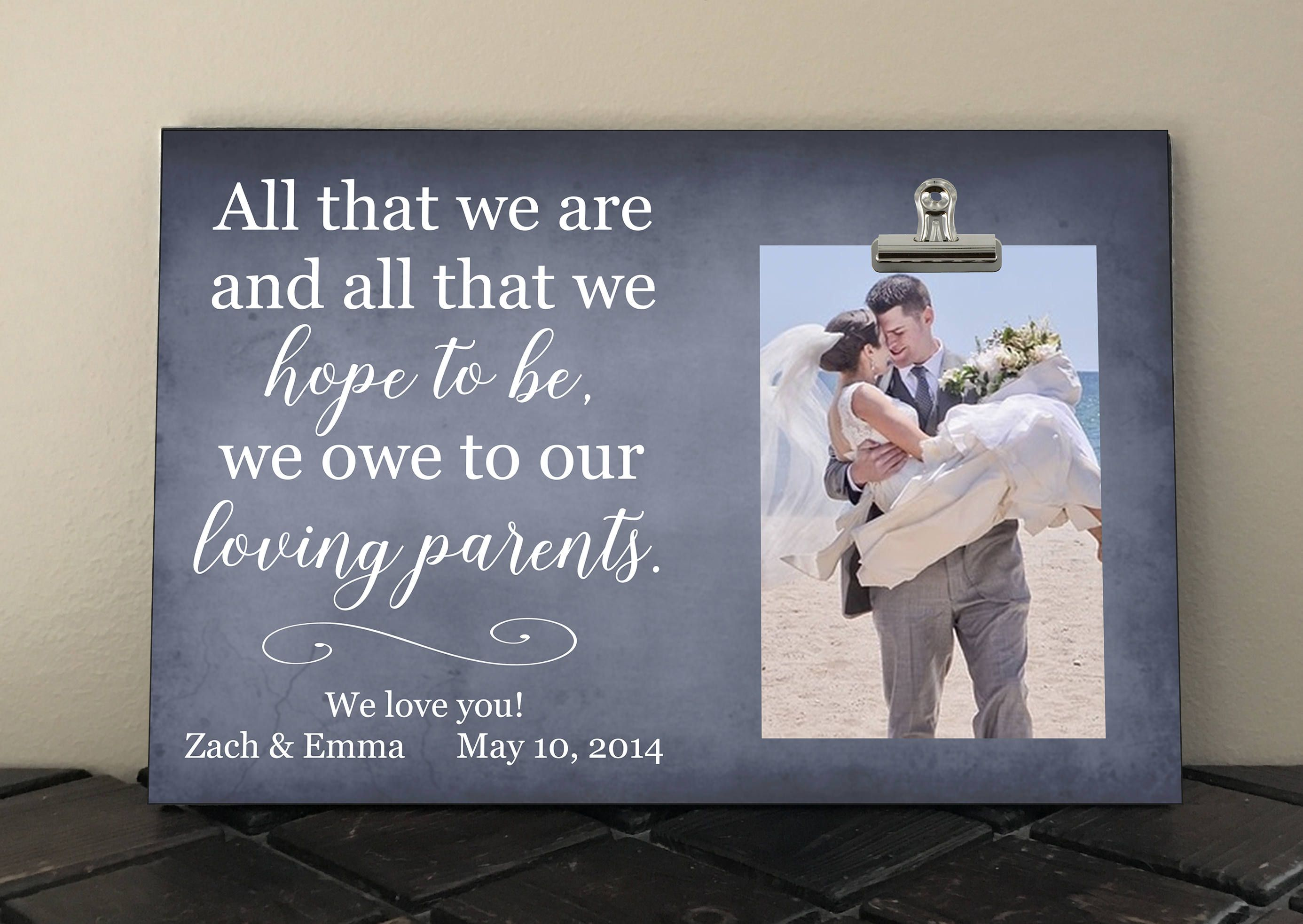 38+ What to get parents as wedding gift info