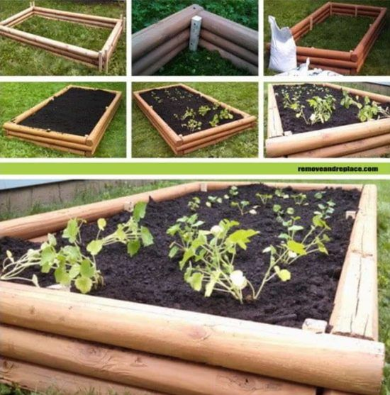 You will love these amazing Raised Herb Garden Planter ...