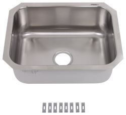 Patrick Distribution Single Bowl Stainless Steel Rv Kitchen Sink