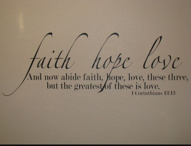 Faith Hope Love Praise GOD Pinterest Bible Verses Bible Magnificent Love And Faith Quotes