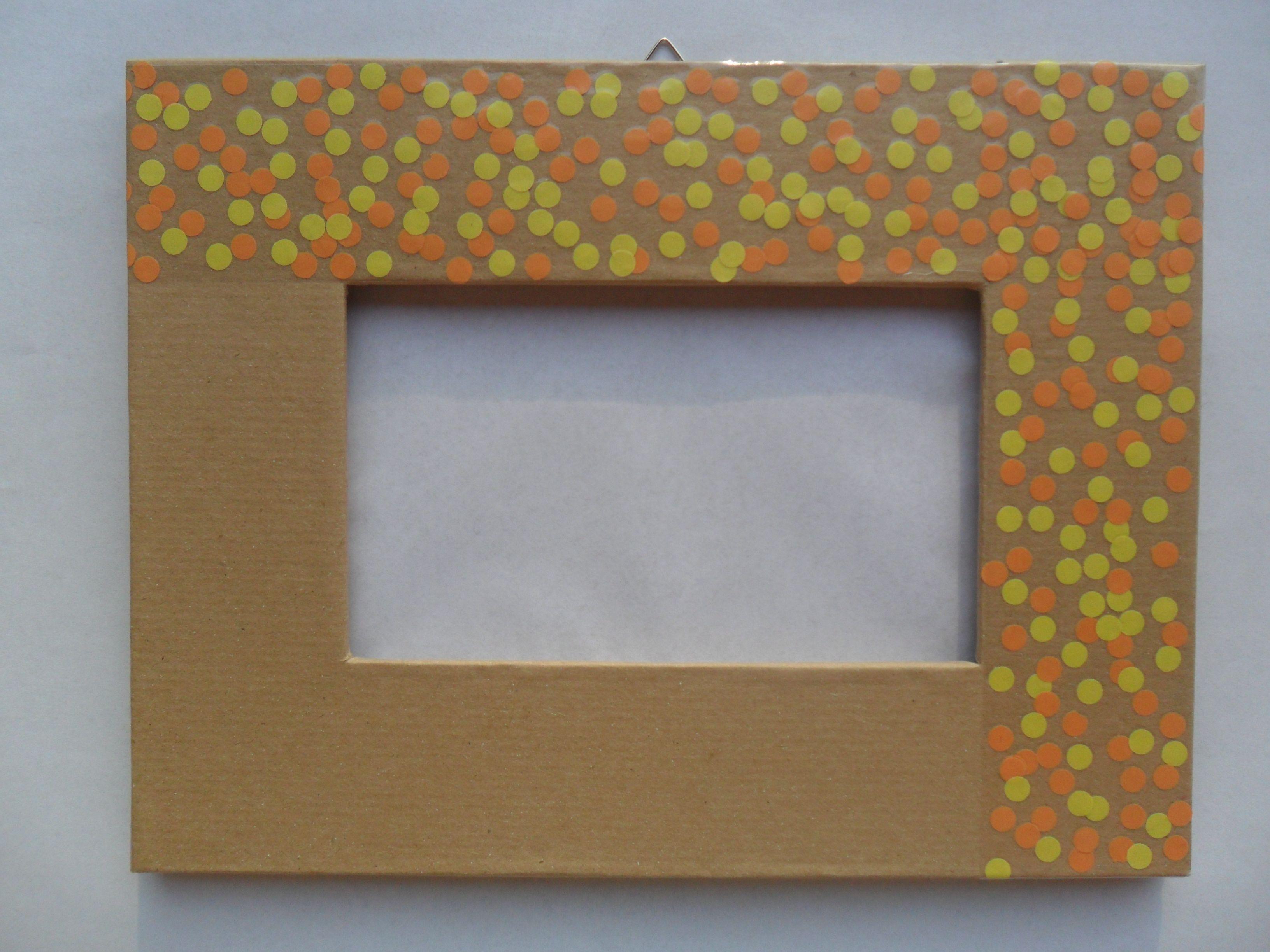 Handmade cardboard frames.. If you like them, visit my Dawanda shop ...