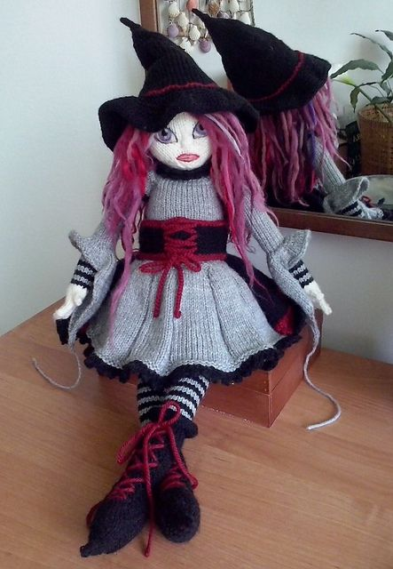 Spelladonna- (witch) pattern by Deena Thomson-Menard (With ...