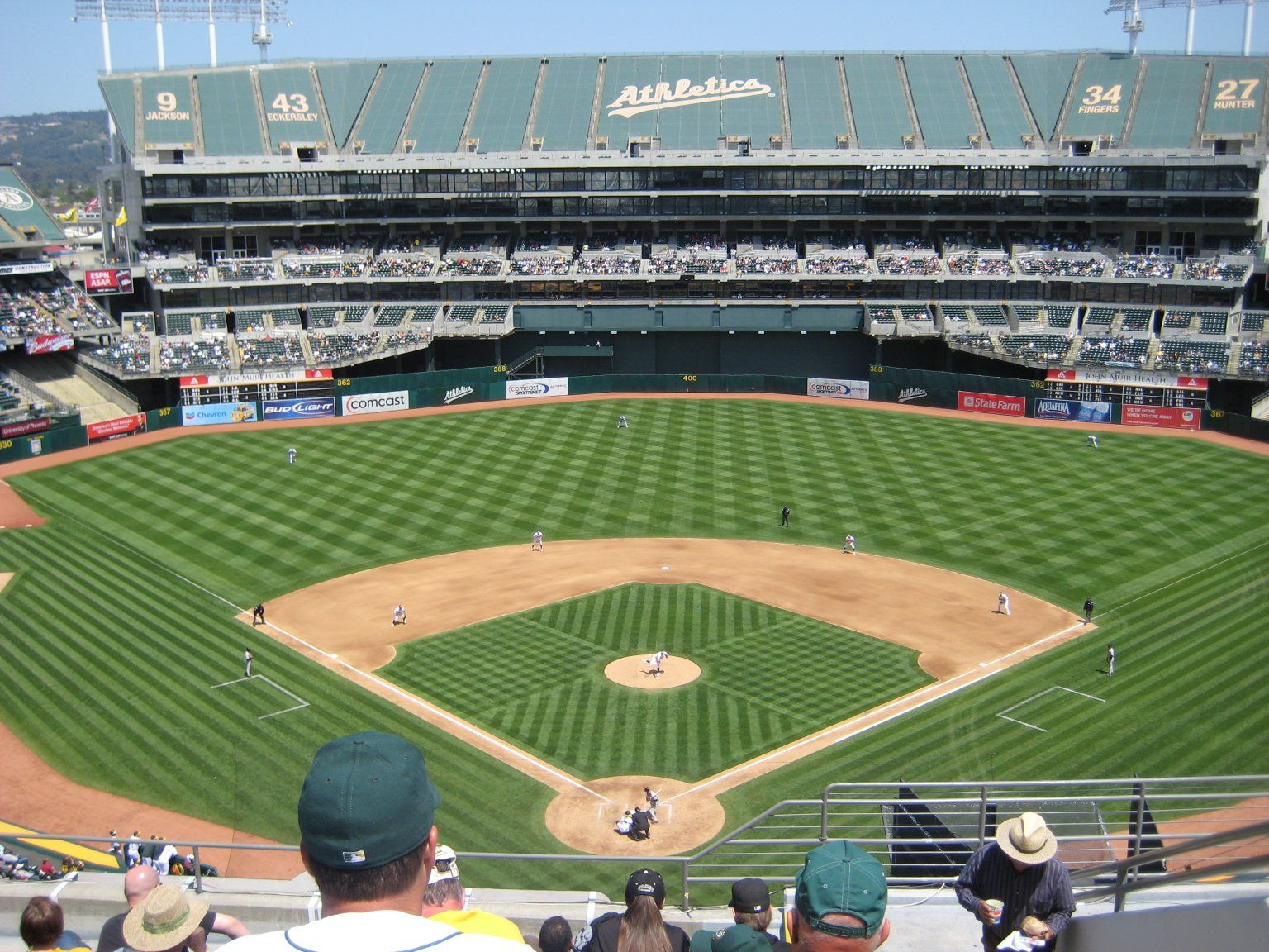 Oakland Alameda County Coliseum Oakland Athletics Mlb Stadiums Baseball Stadium Baseball Park