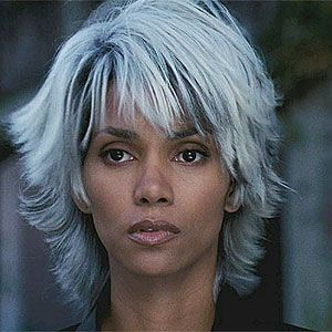 Storm X Men T R L Short Shaggy Haircuts Halle Berry X Men Cool Hairstyles