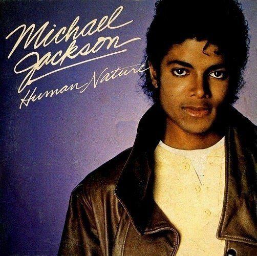 Michael Jackson – Human Nature (single cover art)