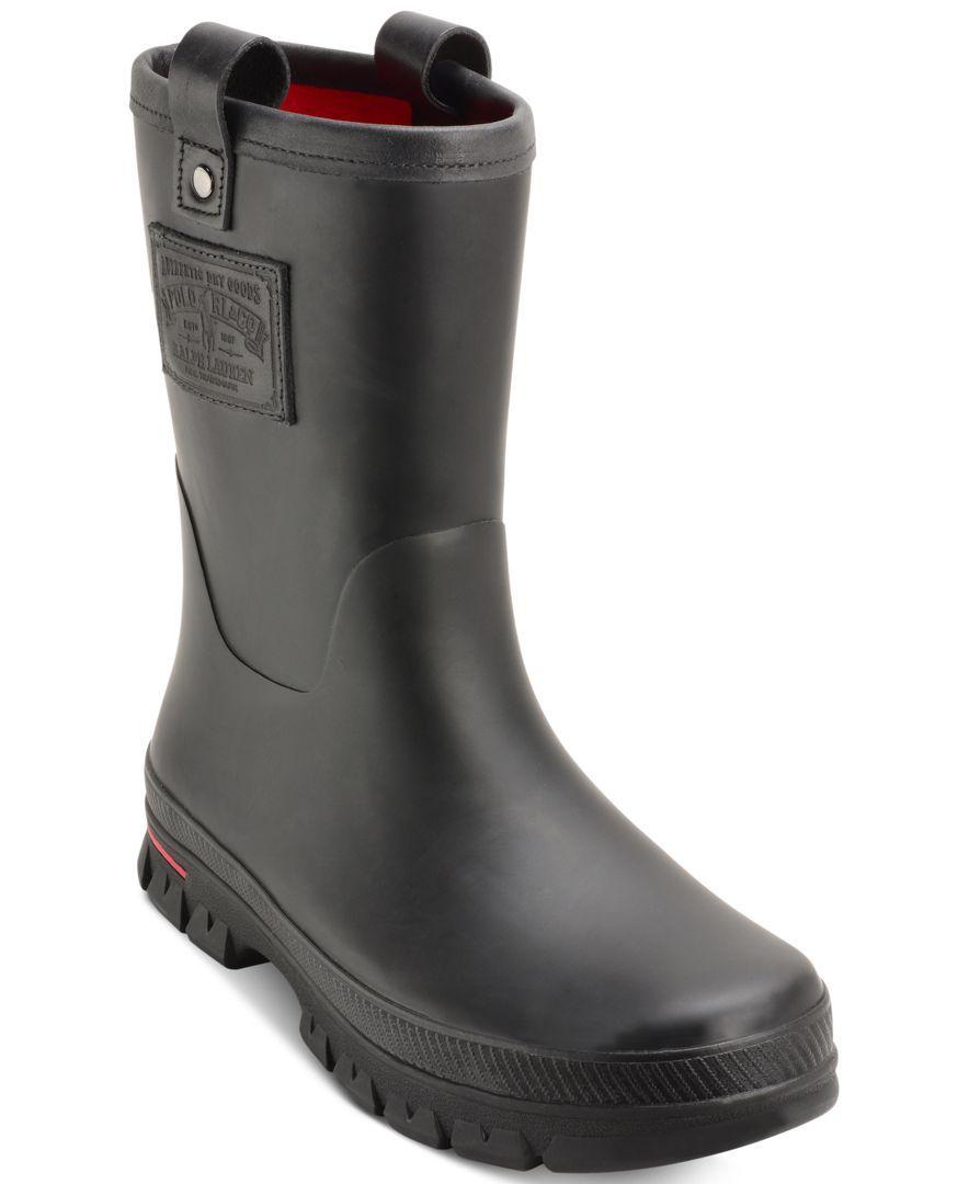6e74d67008f Polo Ralph Lauren Men's Warrington Rain Boots | Rain boots men ...
