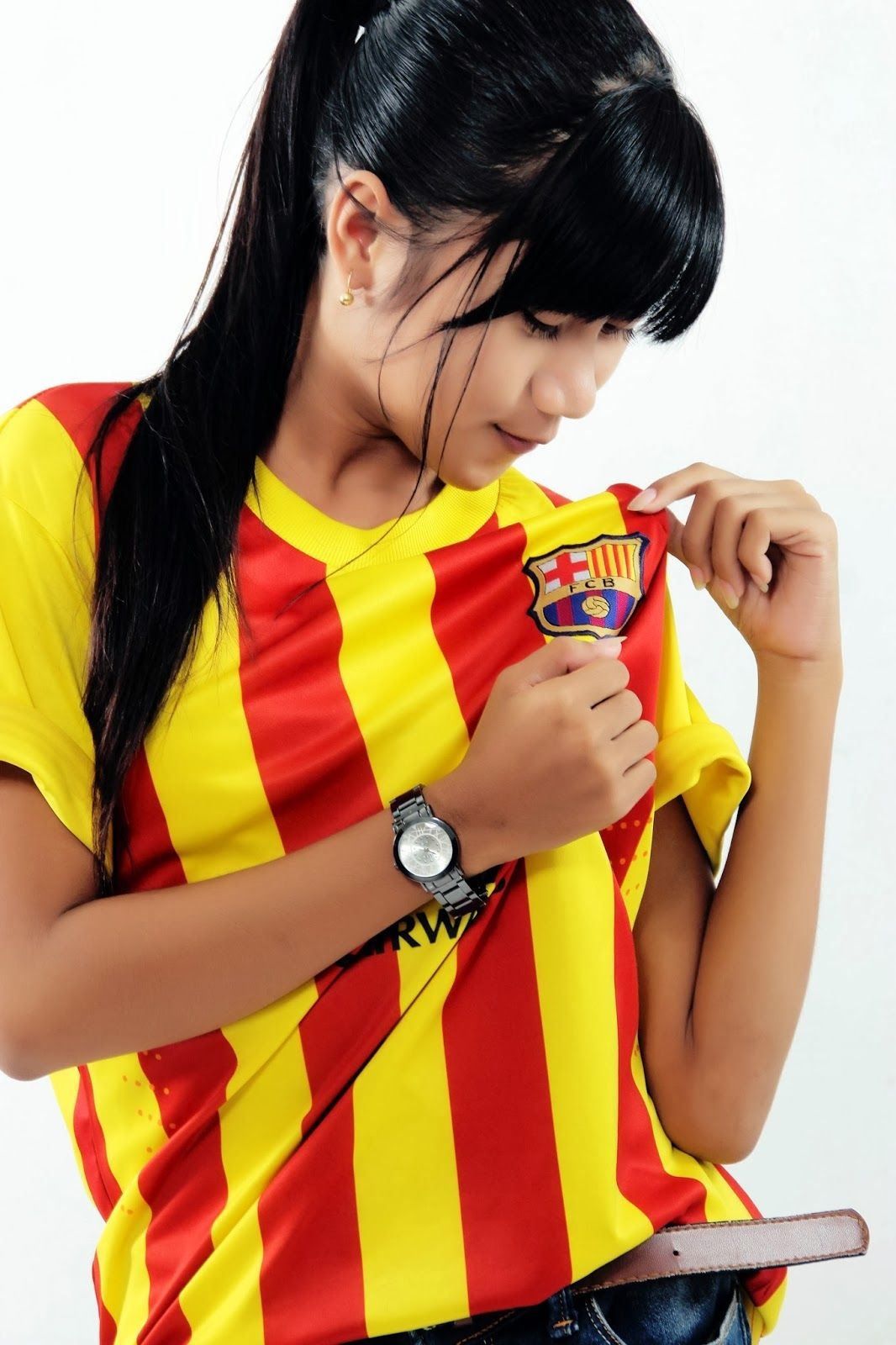 Cules Angel from Indonesia | Fc Barcelona Photo